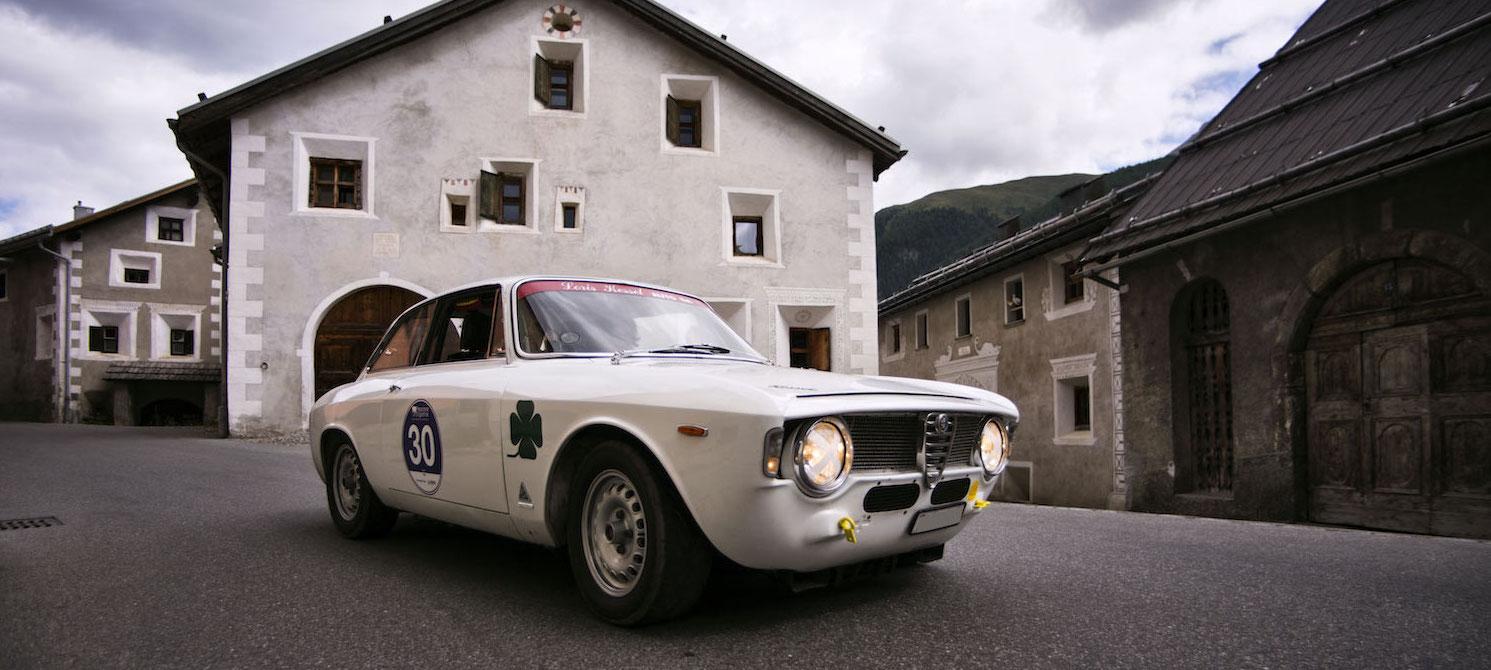 Alfa Romeo Giulia Sprint Gtc 1965 1966 Passione Engadina